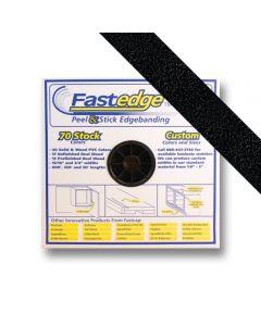 Black PVC Edgebanding- 2in, 600ft Roll