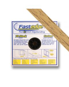 Fastedge Natural Oak PVC 15/16in PSA 250ft Roll