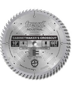 "Blade 10"" x 60 Tooth Cabinetmaker's Crosscuts Full Kerf"