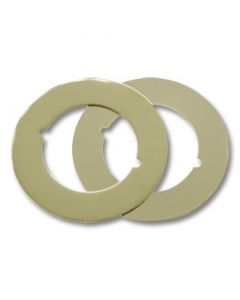 First Watch® Adapter or Trim Plate - 2 Pack Polished Brass