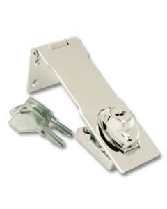 First Watch® 4-1/2in Keyed Hasp Lock