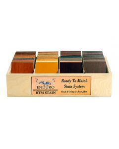 RTM Stain System Color Chip Box