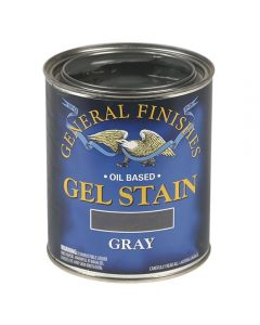 Gel Stain, Oil Based, Gray, Gallon