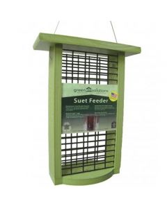 GREEN SOLUTIONS DOUBLE CAKE SUET FEEDER 1