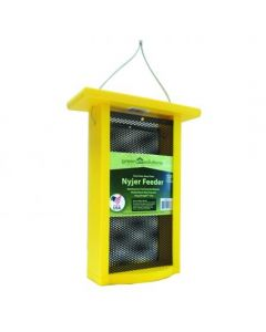 GREEN SOLUTIONS TALL NYJER FEEDER, YELLOW