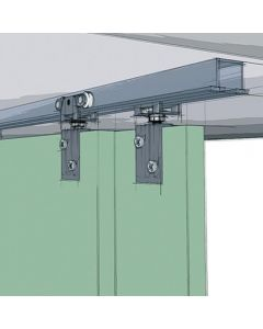 TopLine Grant 72-034 Double Sliding Door Hardware