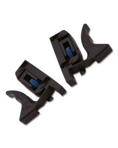 """Front Fixing Clip Set for 1/2\"""" Drawer Box - 30° Screw Holes"""