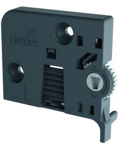 Left Tilt Adjuster for Quadro 4D V6 IW21, Gray Plastic
