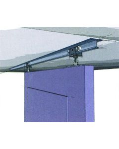 TopLine 71-222 Single Door Hardware Kit with a 4 Ft. to 8 Ft. Track 1