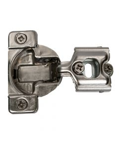 Hettich Optimat 105-Degree Face Frame Hinge, 1/2-Inch Overlay, Six-Way Adjustable, Press-In
