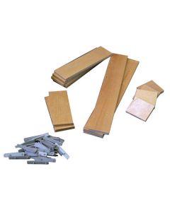 Customizable Wood Drawer Organizer Insert Kit