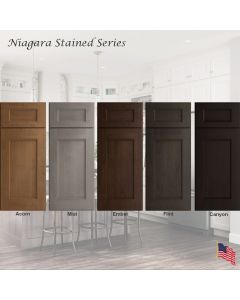 Niagara Stained Assembled Cabinet Series by Legend