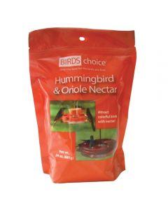 HUMMINGBIRD AND ORIOLE NECTAR, 24 OZ.