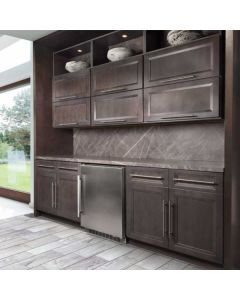 Onyx Cobblestone Cabinets