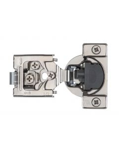 """Optimat 3D, 105* With Soft-Close, 6-Way Adjustable, 3/4"""" Overlay, Press-in Hinge"""