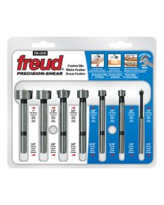 7 Piece Precision Forstner Set
