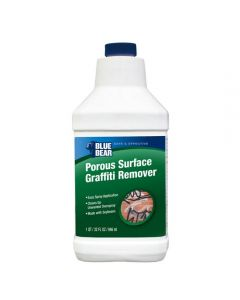Graffiti Remover For Porous Surfaces, Quart
