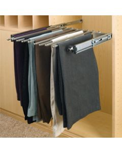 "Pants Rack Organizer with Movable Fingers for Closet 24"" x 14"""