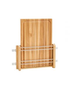 "Rev-A-Shelf Door Mount Cutting Board for 18"" Base Cabinet Natural Wood Maple"
