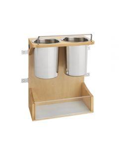 Vanity Appliance Storage Rack (Door Mounted)