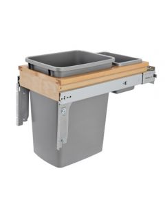 Top Mount Waste Pull Out, Single, 35qt