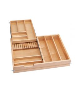"""Cutlery Drawer, Double Tiered for 30"""" Cabinet"""