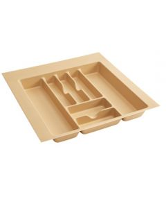 Cut-To-Size Insert Cutlery Organizer for Drawers