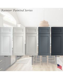 Rainier Painted Assembled Cabinet Series by Legend