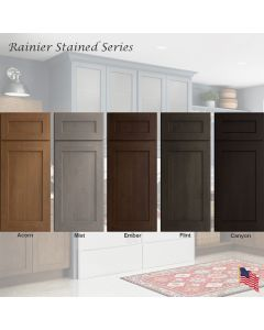 Rainier Stained Assembled Cabinet Series by Legend