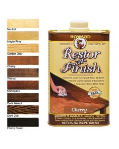 8 or 16 oz. Restor-A-Finish, Specify Wood Color