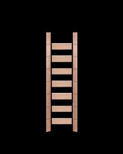 Library Ladder 8 Foot Red Oak Unassembled Prefinished