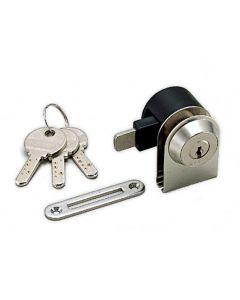 Glass Door Cam Lock, 39.6 mm