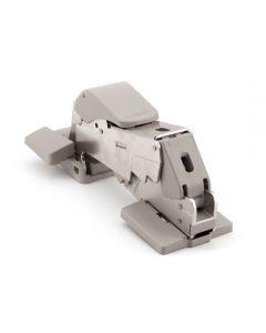 Sugatsune Specialty Overlay Hinge W/Soft-Close, 25mm Overlay, Nickel