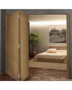 A84D Folding Door Hardware, 2-Door Assembly 1