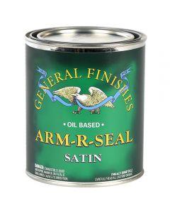 Satin Arm-R-Seal Oil-Based Topcoat, Pint