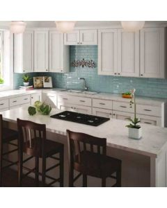 Shaker Hill White Cabinets