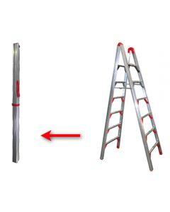 Telesteps 7-Ft. Double-Sided Folding Stik Ladder, 250 Lb. Capacity, Type 1 1