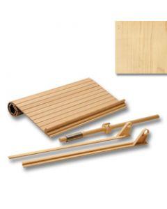 Tambour Door Kit Maple