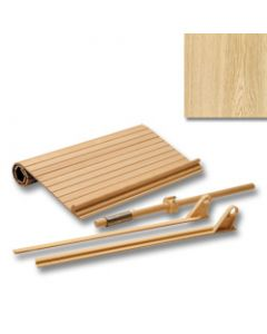 Tambour Door Kit Red Oak Veneer