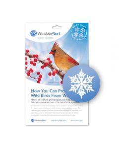 WINDOWALERT SNOWFLAKE DECALS 1