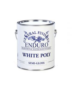 White Poly, Semi-Gloss, Gallon