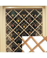 """Premium Wine Rack, 17\"""" X 29\"""" Maple"""