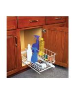 "Multi-Use Basket w/ Upper Basket, 11"", White"