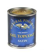Gel Topcoat Wipe-on Urethane, Satin, Gallon