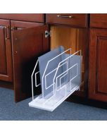 "Tray Divider Roll-Out, 9"" Wide, White"