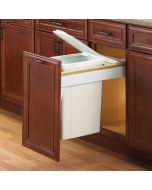 Soft-Close Top-Mount, Single 35qt, Platinum