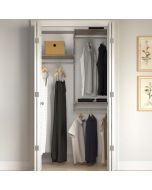 Closet Culture Heavy-Duty Modular Closet System, 4-Ft. Wide Kit