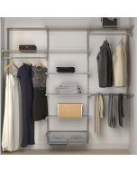 Closet Culture Heavy-Duty Modular Closet System, 6-Ft. Wide Kit