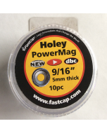 Holey PowerMag, 9/16'' x 5mm thick, 10-pack