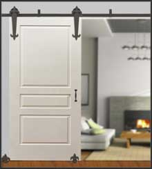 Browse Rolling Barn Door Hardware Kits